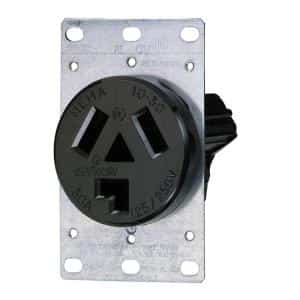 30 amp 220v 2 pole outlet