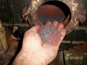 Hand full of rust