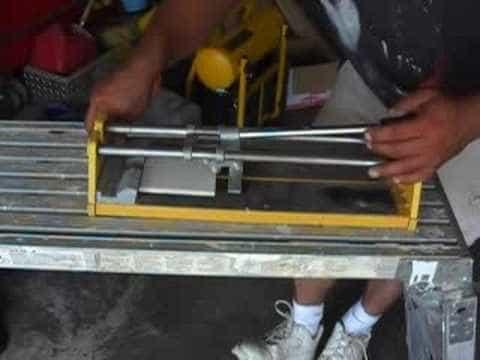 Hand Tile Cutter