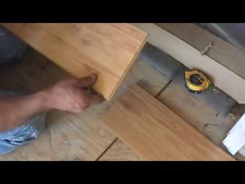 Video On How To Install Laminate Flooring