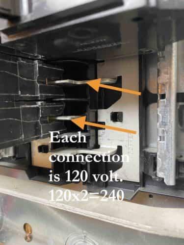220 volt buss bar