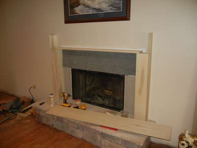 Mantel going together