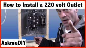 how to install a 220 volt outlet - askmediy  askmediy