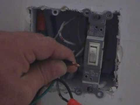 How to install a dimmer and or replace a light switch