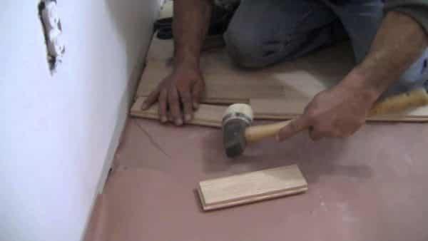 How to install hardwood floor