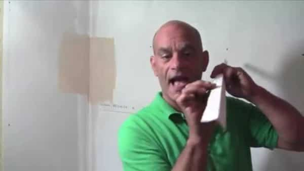 How to tape an inside drywall corner with Strait-Flex Perfect 90