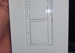 replacing double switch (with two circuits) with single pole on/off and dimmer switch